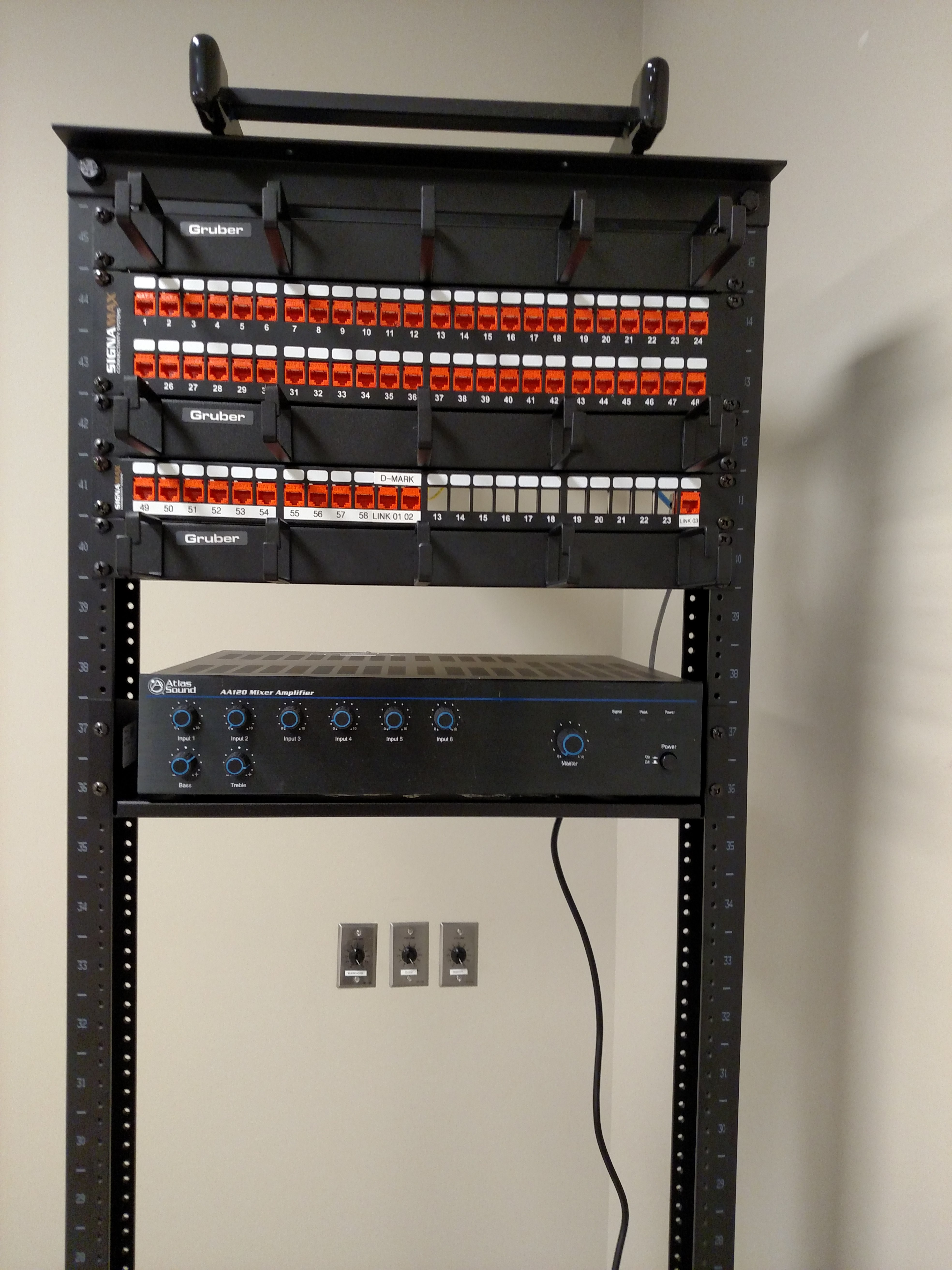 Kelley Communications Milwaukee Data Cabling Specialists Cable Wiring Specialist Inc Rack1a